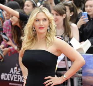 """Kate Winslet : des courbes divines et pulpeuses pour la première de """"Divergent"""""""