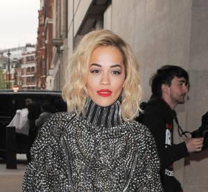 Rita Ora, entre cuir et sex-appeal... un look à copier !