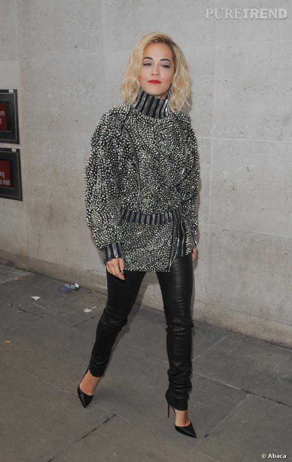 Rita Ora, élégante et sexy à la fois, on adore !