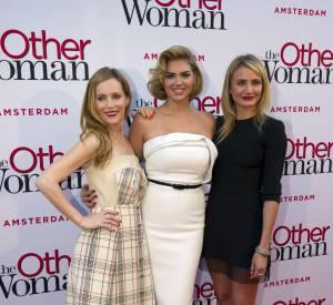 """""""Triple Alliance"""" : Leslie Mann, Kate Upton et Cameron Diaz ne manquent pas de sex-appeal pour la promotion du film !"""