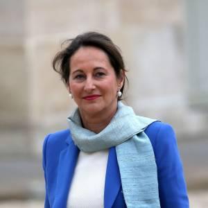Pour son premier conseil des ministres du nouveau gouvernement, Ségolène Royal mise sur le bleu.