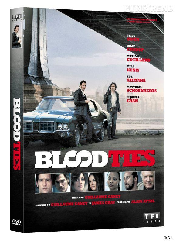"""""""Blood Ties"""" de Guillaume Canet : 19.99 €."""
