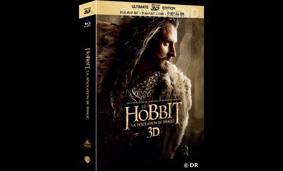 """""""Le Hobbit, la désolation de Smaug"""" en Blu-Ray 3D : 34.99€."""
