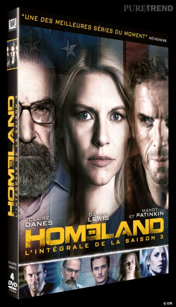 """""""Homeland"""" la saison 3 : 39.99€."""