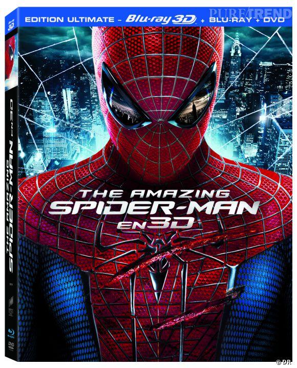 """""""The Amazing Spiderman"""" combo Blu-Ray 3D, ressortie spéciale pour la suite du film : 14.99 €."""