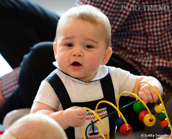 Prince George en Nouvelle Zélande le 9 avril 2014.