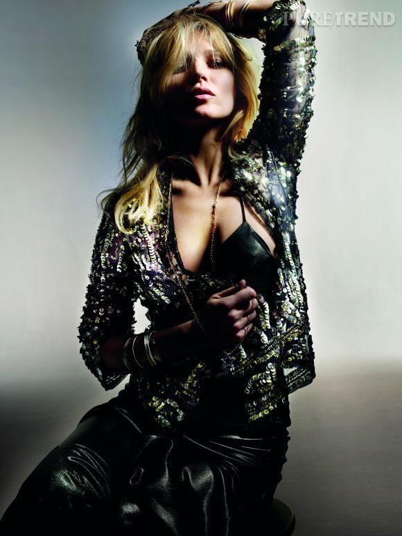 Kate Moss pour Topshop. Une collection disponible dès le 30 avril 2014 dans les enseignes Topshop.