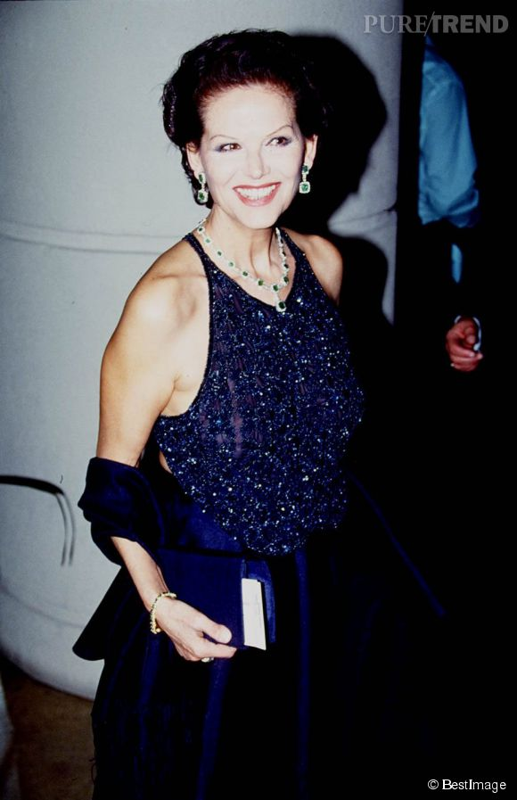 Claudia Cardinale aux Cinema Awards de Los Angeles en 1994.
