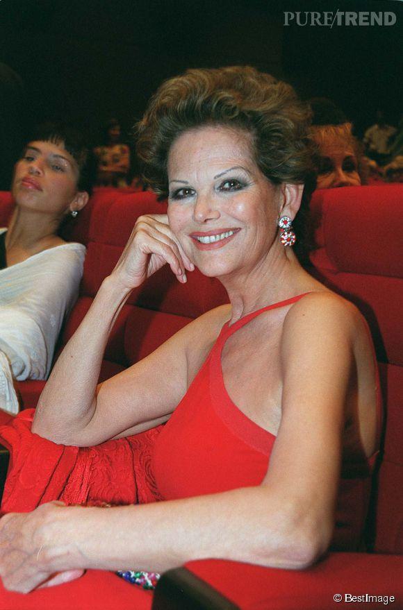 Claudia Cardinale au Festival du cinéma de Benodet en 1999.