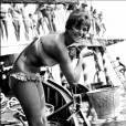 Claudia Cardinale à Venise en 1957.