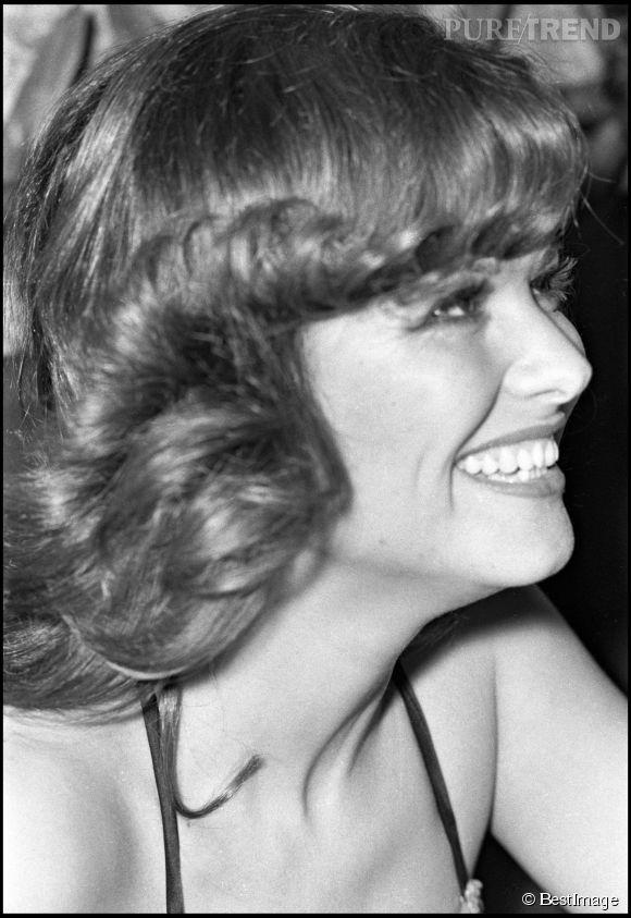 Claudia Cardinale avec un super brushing 70's en 1971.
