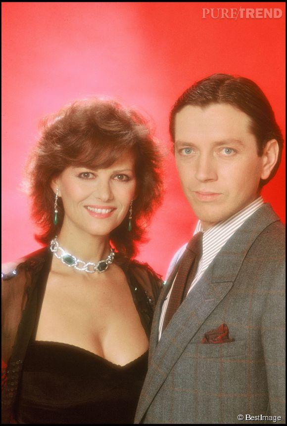 Claudia Cardinale et Bernard Giraudeau en 1983 pour le filme le Ruffian.