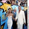 "Victoria Beckham et David Beckham aux ""MTV Movie Awards 2003 en en juin 2003."