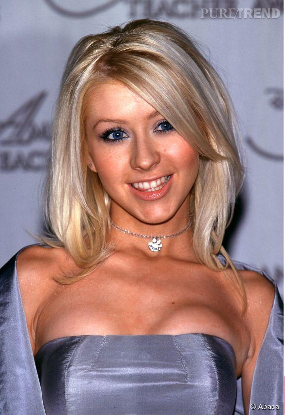 Christina Aguilera avant...