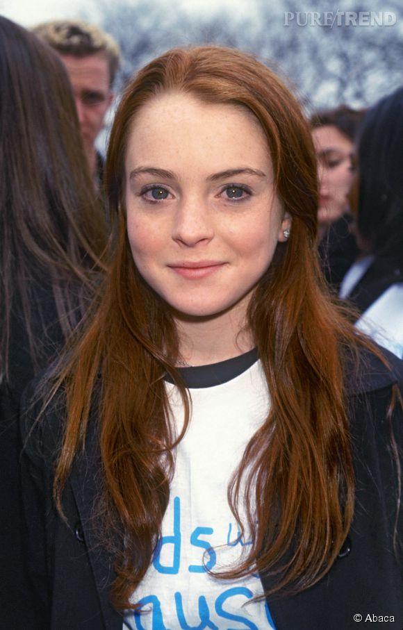 Lindsay Lohan avant...