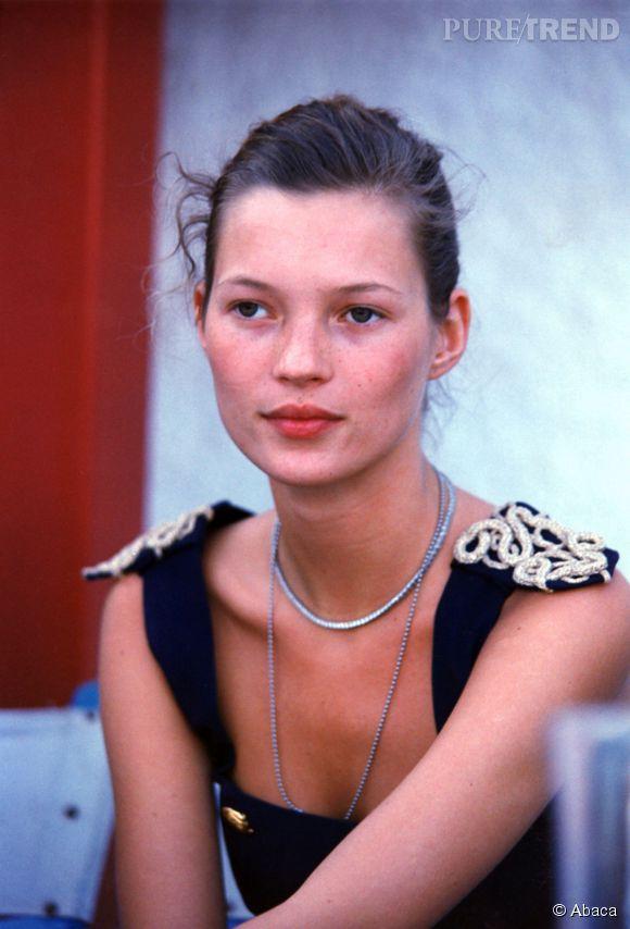 Kate Moss avant...
