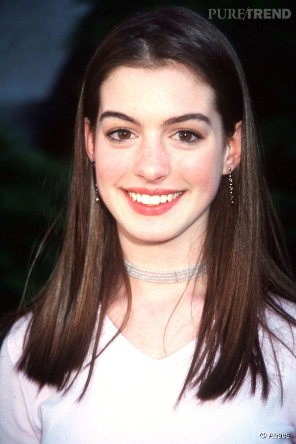 Anne Hathaway avant...