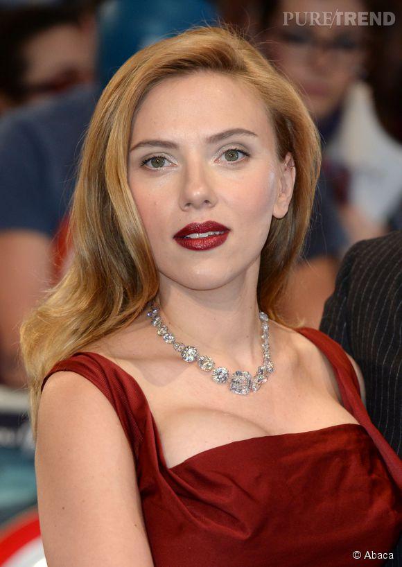Scarlett Johansson après...