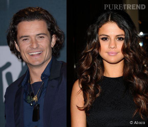 Orlando Bloom et Selena Gomez ont été aperçu ensemble samedi 26 avril 2014.