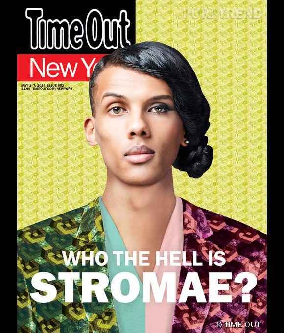 Stromae est en couverture du TIME OUT à New York du mois de mai 2014.