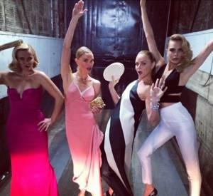 Reese Witherspoon, Kate Bosworth, Stella McCartney et Cara Delevingne complètement déchaînées avant de fouler le red carpet du Met Ball 2014