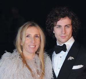 "Aaron Taylor-Johnson et sa femme Sam Taylor-Johnson qui va réaliser ""50 nuances de Grey""."