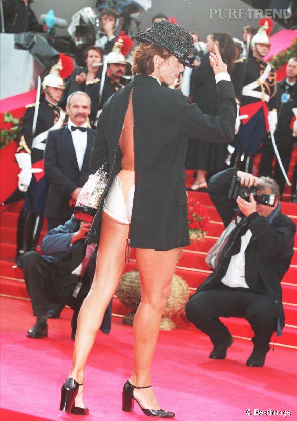 Victoria Abril réchauffe le Festival de Cannes de 1997.