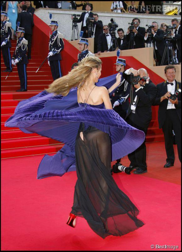 Vahina Giocante côté pile lors du Festival de Cannes 2007.