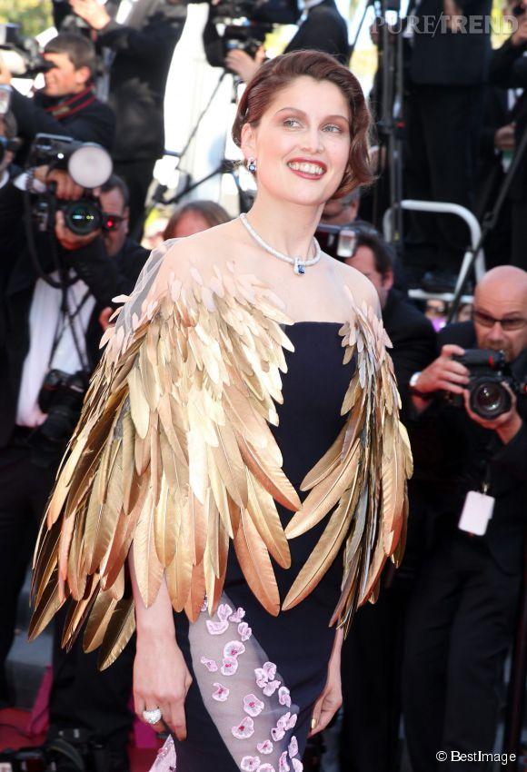 Laetitia Casta en Christian Dior lors du Festival de Cannes 201