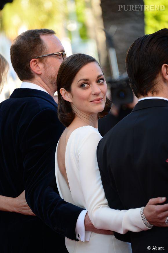 """Marion Cotillard sera au Festival de Cannes 2014 pour présenter le film """"Deux jours, une nuit""""."""