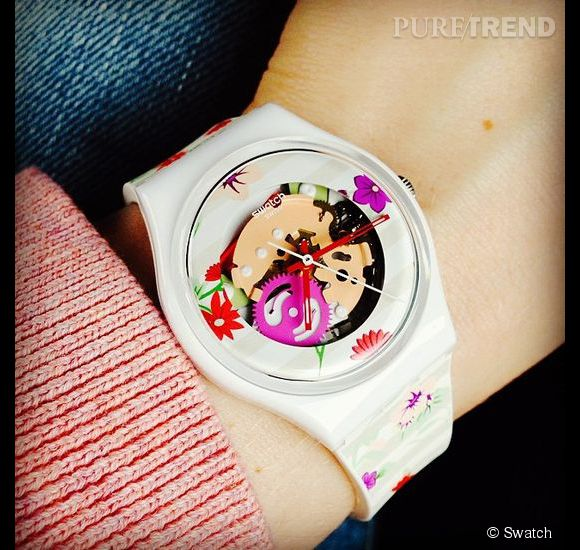 Swatch Blossoming Love : 60€