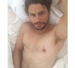 James Franco n'hésite pas non plus à se photographier nu sur Instagram.