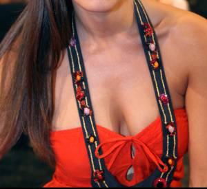 Elisa Tovati super sexy pour l'enregistrement de l'émission Le plus grand cabaret du monde, le 21 avril 2007.