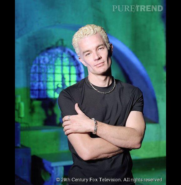 """James Marsters alias Spike dans """"Buffy contre les vampires"""" en 1998."""