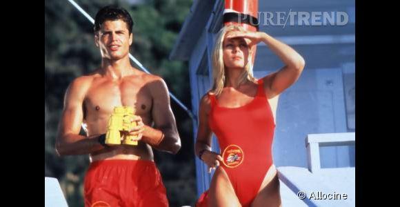 "David Charvet dans ""Alerte à Malibu"" en 1992."