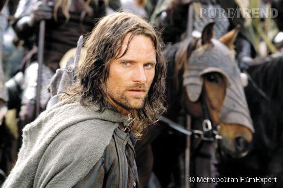 """Viggo Mortensen dans """"Le Seigneur des Anneaux"""" en 2001."""