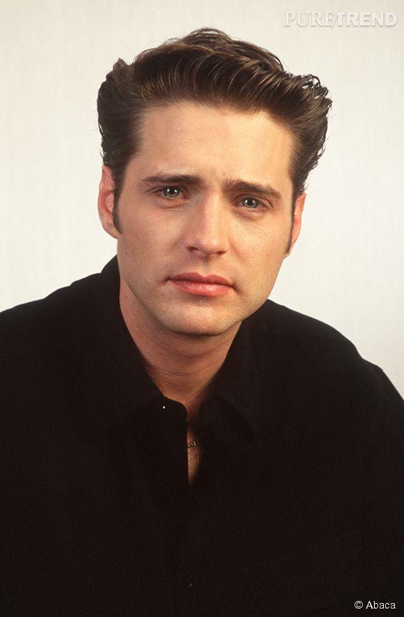 "Jason Priestley dans ""Beverly Hills"" en 1990."