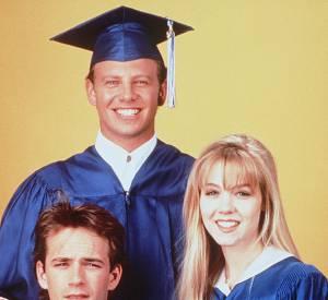 """Luke Perry dans """"Beverly Hills"""" en 1990."""
