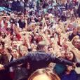 Lors de son arrivée à Cannes, la foule a acclamé Nabilla Benattia.