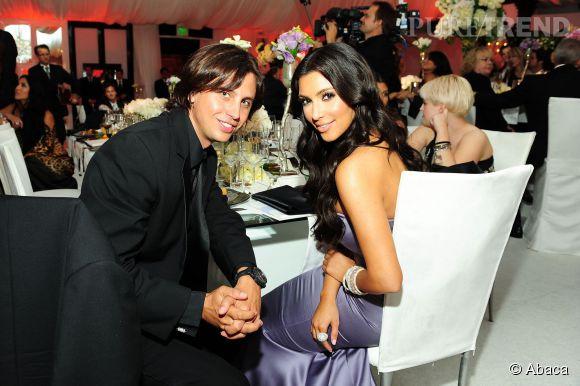 Jonathan Cheban et Kim Kardashian au mariage de Khloé en 2009.