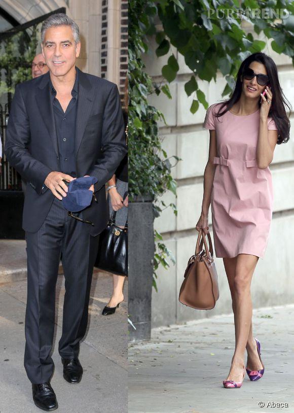 George Clooney et Amal Alamuddin vont se marier en septembre 2014 en Angeterre, au château de Highclere.