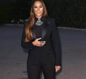 Leona Lewis mise sur un smoking version féminin aux World Music Awards, mardi 27 mai à Monte-Carlo.
