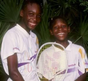 Moins chétives que lorsqu'elles étaient enfants, Venus et Serena Williams sont devenues les plus grandes joueuses du circuit féminin.