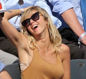 Enora Malagré : une pin-up sous le soleil de Roland Garros 2014