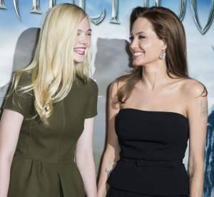 Maléfique : Elle Fanning, ''Angelina Jolie m'a prise sous son aile''