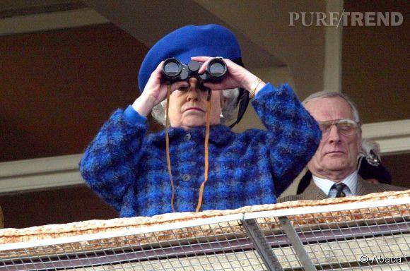 Elizabeth II ne manque pas une course de ses champions.