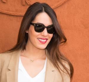 Sofia Essaïdi, belle et très amoureuse à Roland Garros 2014