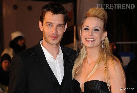 Elodie Gossuin et son mari Bertrand Lacherie. La maman de quatre enfant sera à la télévision tout l'été dans Pyramide 2014.
