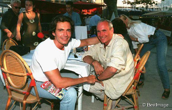 Olivier Minne et Patrice Laffont en 1996 à la grande époque de Pyramide.