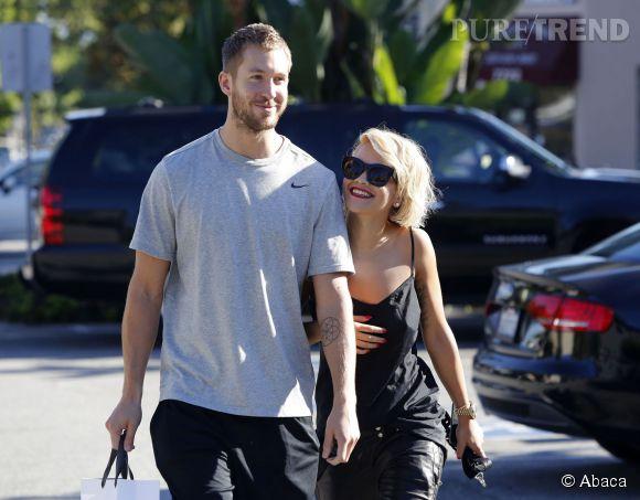 Calvin Harris et Rita Ora en 2013.